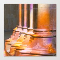 stone Canvas Prints featuring stone by Tereza Del Pilar