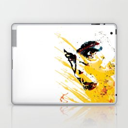 Street art yellow painting colors fashion Jacob's Paris Laptop & iPad Skin