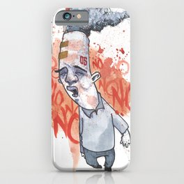 Toxic Thoughts iPhone Case