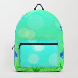 Field in summer Backpack