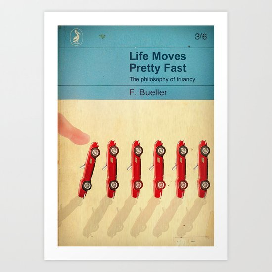 TEXTBOOK FERRIS Art Print