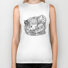Fragments of Childhood Biker Tank