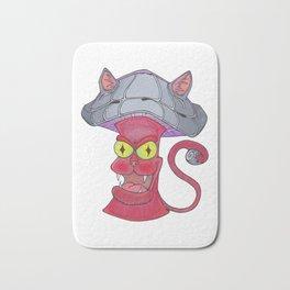 Kitty Shroomie #1 Bath Mat