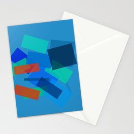 Retracting in Motion Stationery Cards