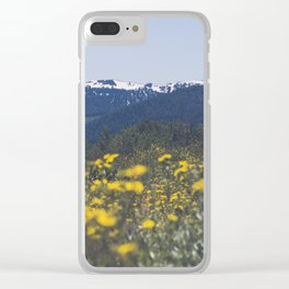 Spring Valley Clear iPhone Case