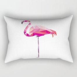 Geometric Flamingo Rectangular Pillow