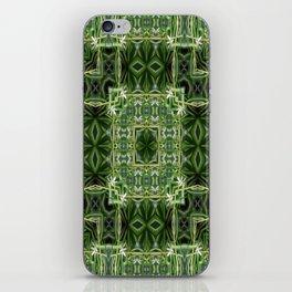 Spider Plant Kaleidoscope Art 2 iPhone Skin