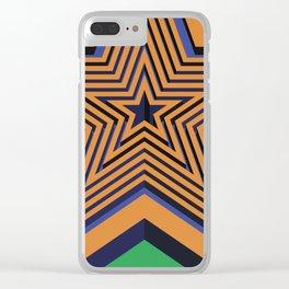 Decorative Star iPhone Skin Clear iPhone Case