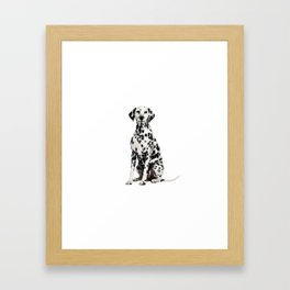 Cute Dalmatian 7 Framed Art Print