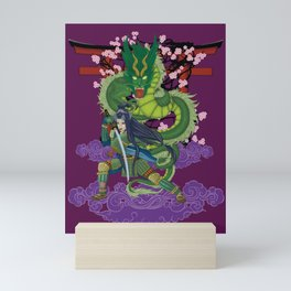 Yimei guardian of dreams Mini Art Print