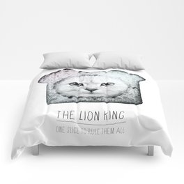 The lion king Comforters