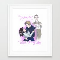 enerjax Framed Art Prints featuring Peggy and Steve ... and Jarvis by enerjax