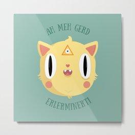 Catspiracy Metal Print