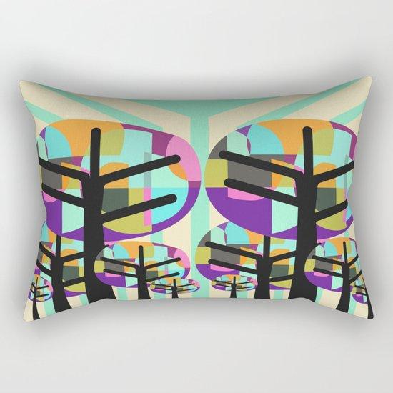 Joyful Trees Rectangular Pillow