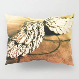 The Angel Has Landed Pillow Sham