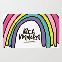 Be a unicorn Rug