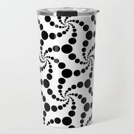 Swirling circles Travel Mug