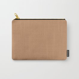 Pantone 16-1341 Butterum Carry-All Pouch