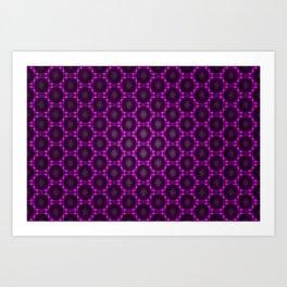 The visible net  4 Art Print