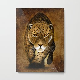 The Leopard Metal Print