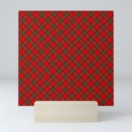 Tartan Plaid  Pattern Mini Art Print