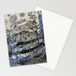 snow landlord Stationery Cards