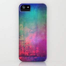 abstraction.001 iPhone Case