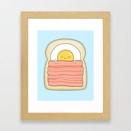 bed and breakfast Framed Art Print