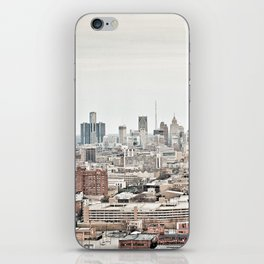 Downtown Detroit Skyline View from New Center iPhone Skin