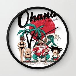 Ohana dragon Wall Clock