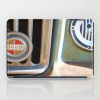 jeep iPad Cases featuring Jeep by AnniarchyDesigns