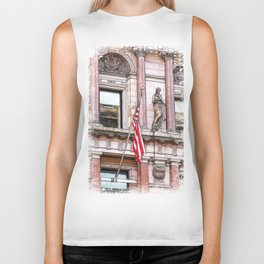 On the Side of the angels Biker Tank