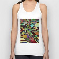 the fault Tank Tops featuring Fault Lines by Klara Acel