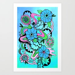 Most Wonderful Mother Art Print