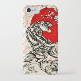 Japan Tiger iPhone Case