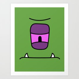Monster - Jee Art Print