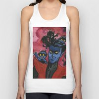 kurt rahn Tank Tops featuring Kurt & Bamfs by Fiendish Thingy Art