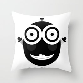 Happy Little Chappy Throw Pillow