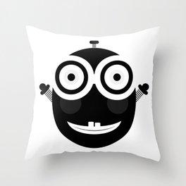 Happy Little Chappy Throw Pillow