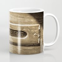 letters Mugs featuring Letters by BD Photo
