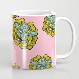 Foo Dog Pattern Coffee Mug