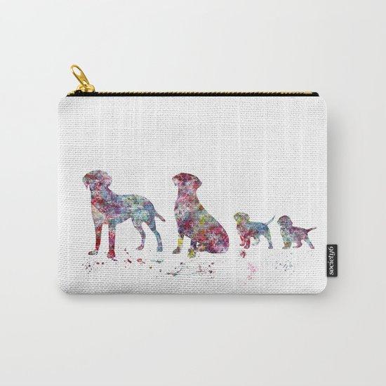 Labrador family Carry-All Pouch