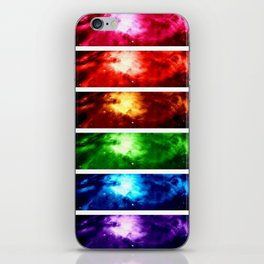Rainbow Nebula iPhone Skin
