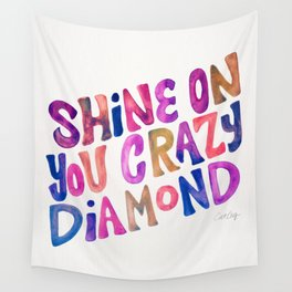 Shine On Your Crazy Diamond – Vintage Palette Wall Tapestry