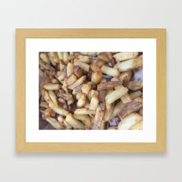 Five Guys Fries Framed Art Print