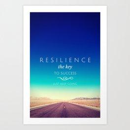 Resilience Art Print