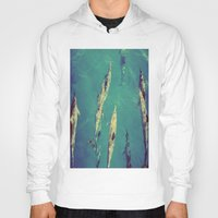 dolphin Hoodies featuring Dolphin by Amandine
