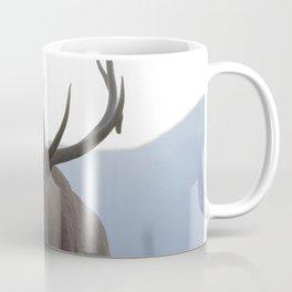 Watercolor Elk Bull 48, Estes Park, Colorado, Rage Coffee Mug