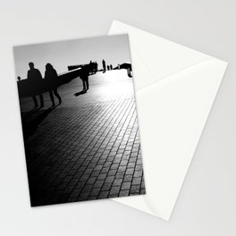 Pedestrian Shadows Stationery Cards