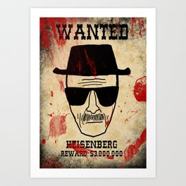 Wanted Art Print